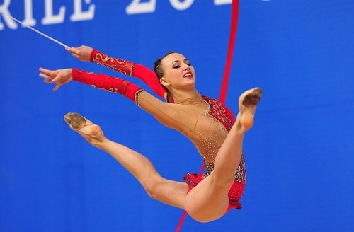 Украинка Ризатдинова завоевала четыре медали на этапе Кубка мира по художественной гимнастике - Цензор.НЕТ 4705