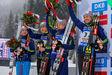 Getty Images. Ирина Варвинец, Юлия Джима, Анастасия Меркушина и Елена Пидгрушная