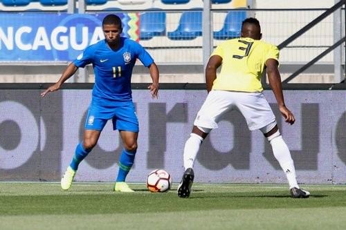 Сиприано провел матч за сборную Бразилии U-20
