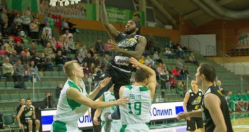 Київ-Баскет переміг на виїзді лідера Суперліги