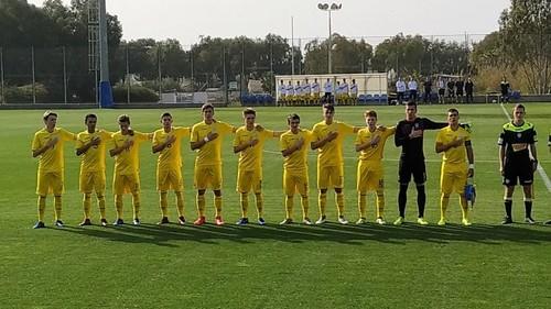 Збірна України U-17 зіграла внічию з Ізраїлем