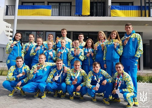 На ЮОІ-2018 юні олімпійці здобули 23 медалі